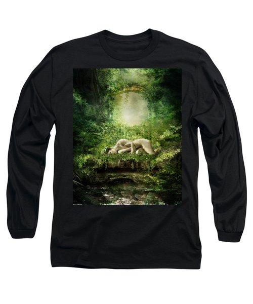 At Sleep Long Sleeve T-Shirt