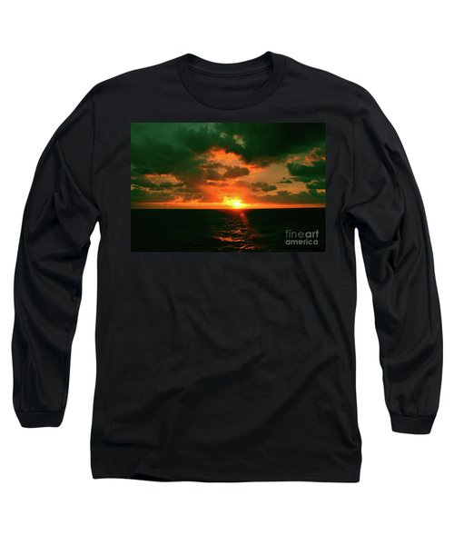 At The Edge Of Night Long Sleeve T-Shirt
