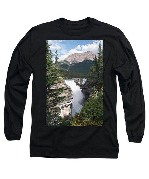 Athabasca Falls Long Sleeve T-Shirt