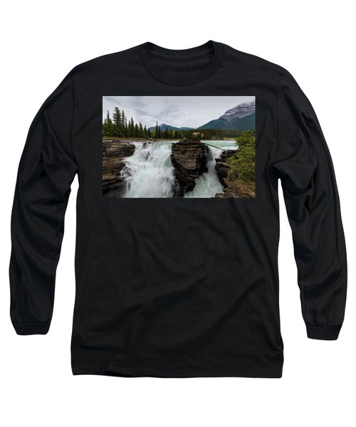 Athabasca Falls Long Sleeve T-Shirt
