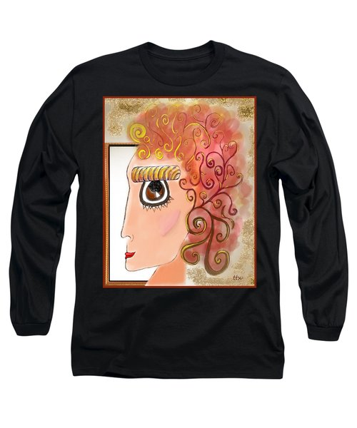 Athena In The Mirror Long Sleeve T-Shirt