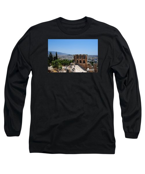 Long Sleeve T-Shirt featuring the photograph Athens by Robert Moss