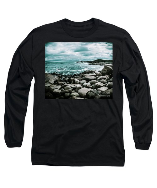 Atmosphere In A Looming Sea Storm Long Sleeve T-Shirt