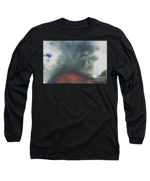 Atmospheric Combustion Long Sleeve T-Shirt by Jesse Ciazza