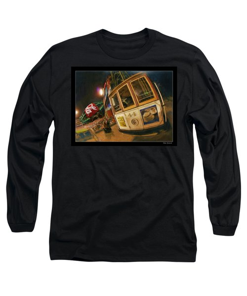 Att Park At Night Long Sleeve T-Shirt