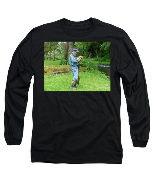 Attaching The Lure Long Sleeve T-Shirt