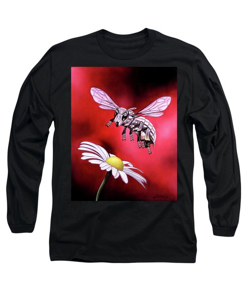 Attack Of The Silver Bee Long Sleeve T-Shirt