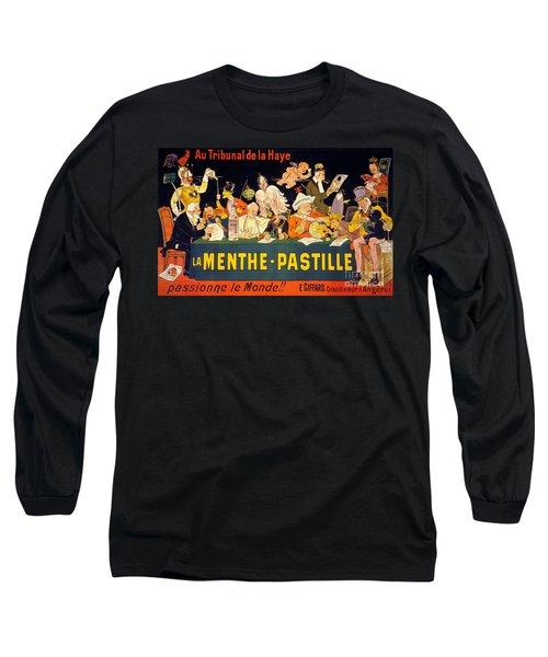 Au Tribunal De La Haye La Menthe Pastille Vintage Long Sleeve T-Shirt