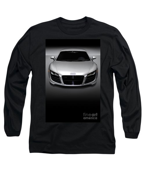 Audi R8 Sports Car Long Sleeve T-Shirt