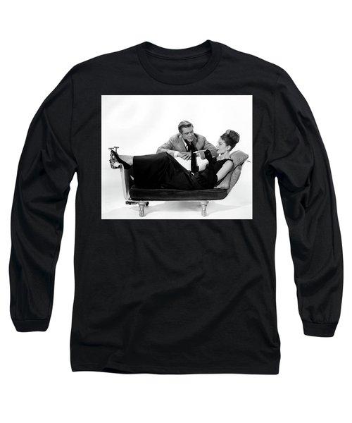 Audrey Hepburn Holly Golightly Breakfast At Tiffanys  Long Sleeve T-Shirt