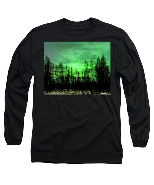 Aurora In The Clouds Long Sleeve T-Shirt