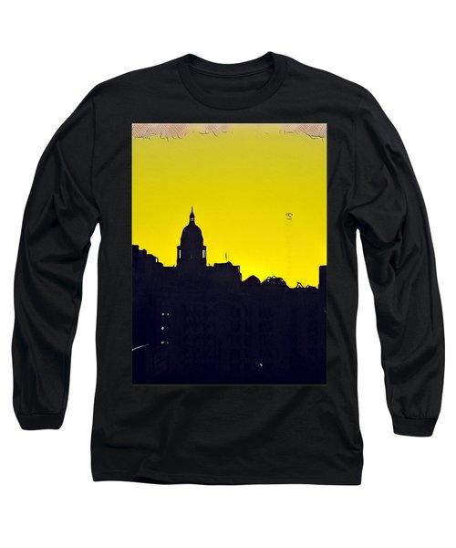 Austin Capital At Sunrise Long Sleeve T-Shirt