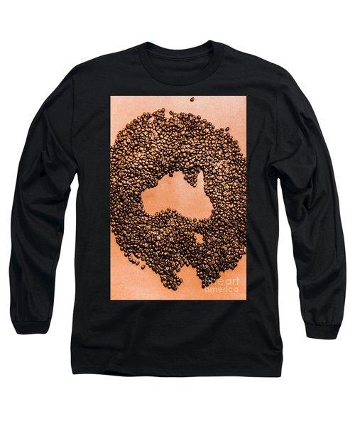 Australia Cafe Artwork Long Sleeve T-Shirt
