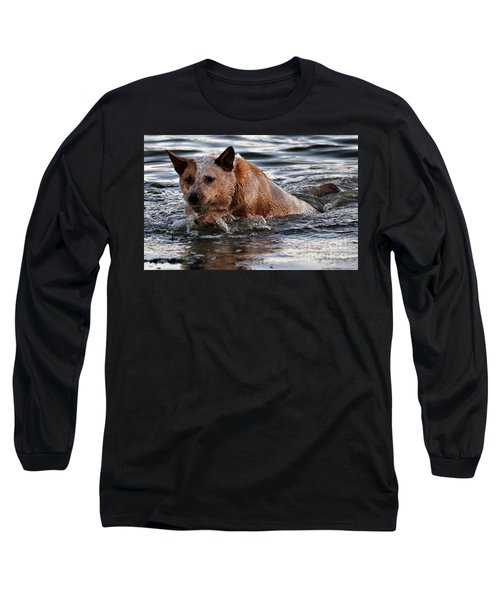 Out For A Swim Long Sleeve T-Shirt