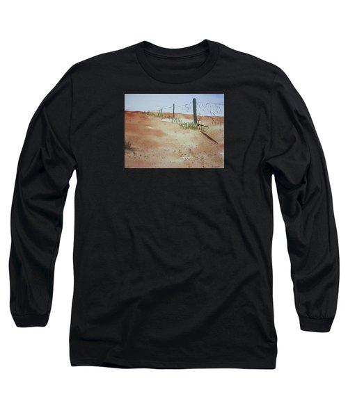 Australian Outback Track Long Sleeve T-Shirt by Elvira Ingram