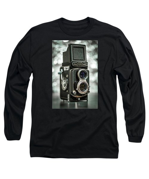 Long Sleeve T-Shirt featuring the photograph Autocord by Keith Hawley