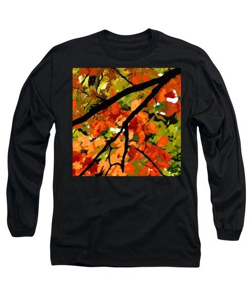Autumn Ablaze Long Sleeve T-Shirt