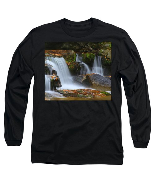 Autumn At Jackson Falls Long Sleeve T-Shirt