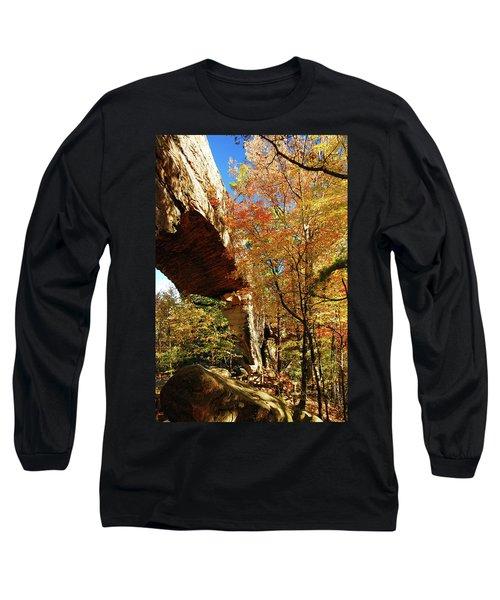Autumn At Natural Bridge State Resort Long Sleeve T-Shirt