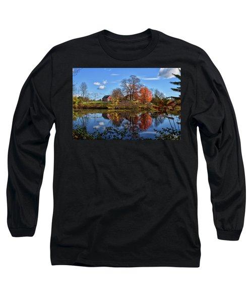 Autumn At The Farm Long Sleeve T-Shirt