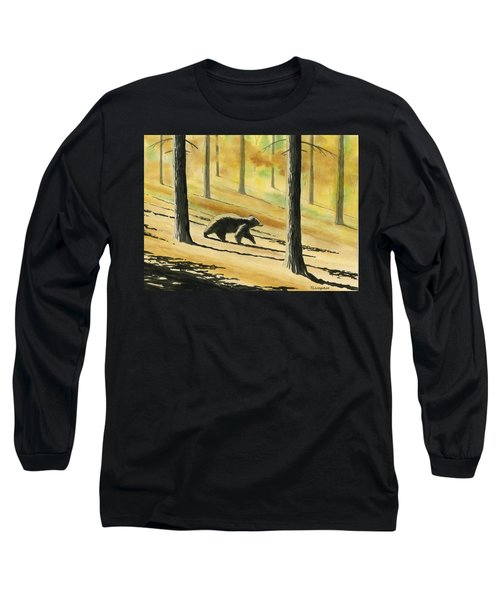 Autumn Bear Long Sleeve T-Shirt