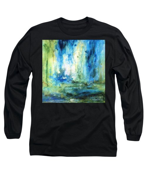 Spring Rain  Long Sleeve T-Shirt by Laurie Rohner