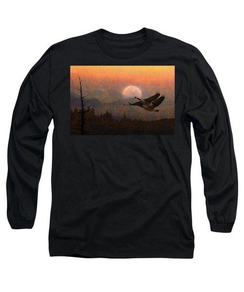 Autumn Long Sleeve T-Shirt by Ed Hall