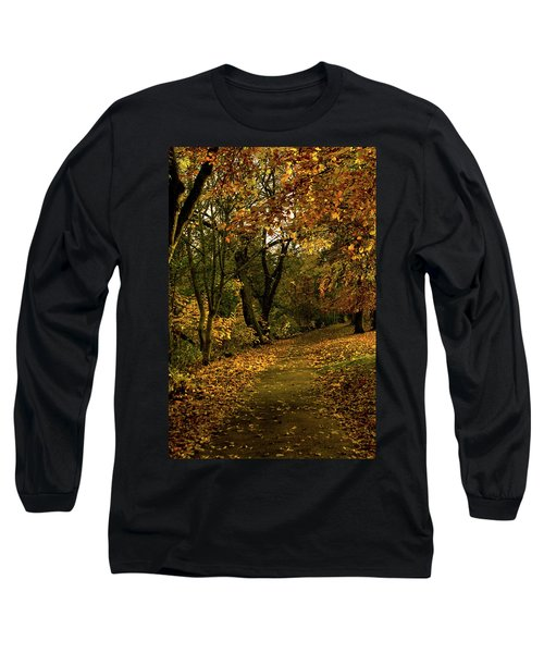 Autumn / Fall By The River Ness Long Sleeve T-Shirt by Jacqi Elmslie