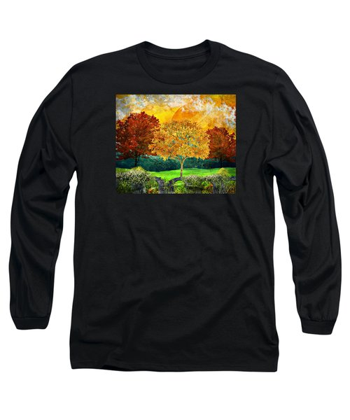 Autumn Fantasy Long Sleeve T-Shirt by Ally White