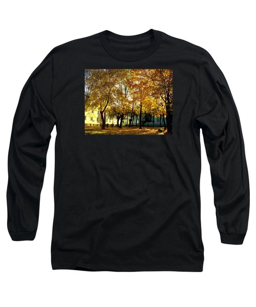 Autumn Festival Of Colors Long Sleeve T-Shirt by Henryk Gorecki