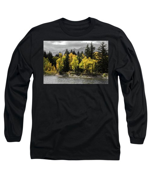 Long Sleeve T-Shirt featuring the photograph Autumn Glow by Colleen Coccia