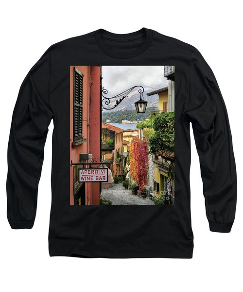 Autumn In Bellagio Long Sleeve T-Shirt by Jennie Breeze