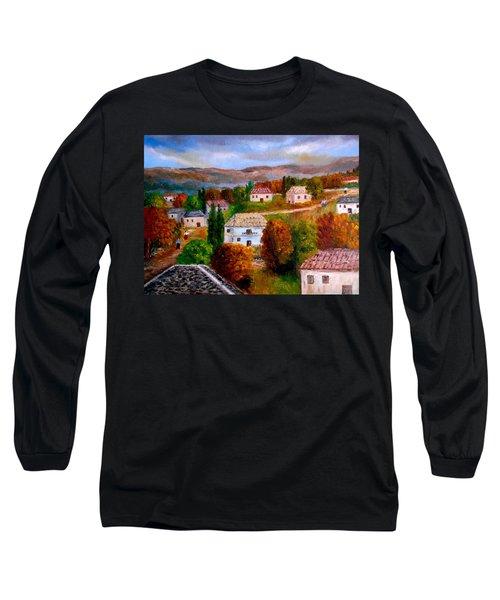 Autumn In Greece Long Sleeve T-Shirt