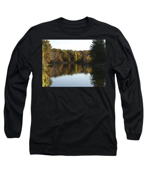 Autumn In Mears Michigan Long Sleeve T-Shirt by Tara Lynn
