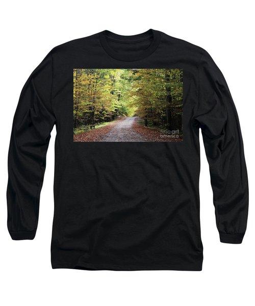 Autumn In Michigan Long Sleeve T-Shirt