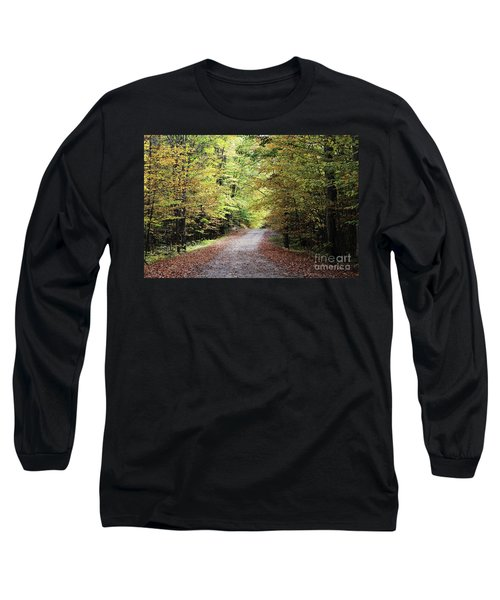 Autumn In Michigan Long Sleeve T-Shirt