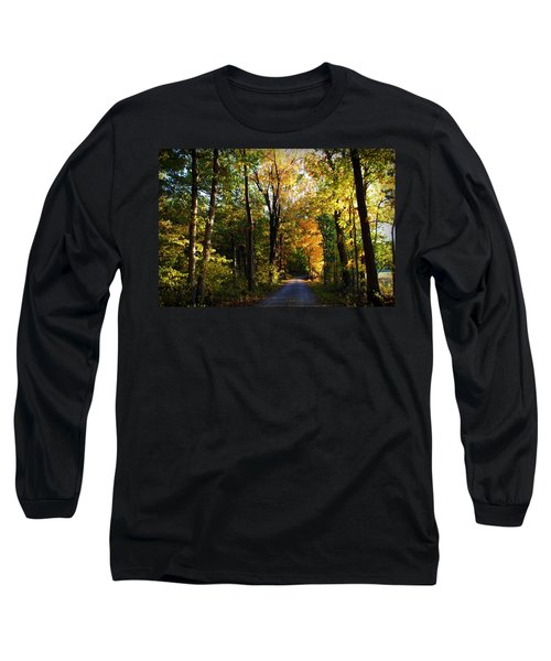 Autumn In Missouri Long Sleeve T-Shirt