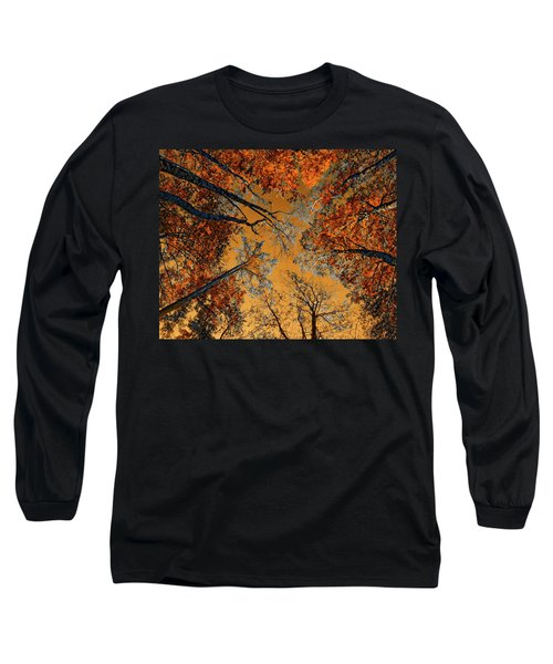 Autumn In The Forest Long Sleeve T-Shirt