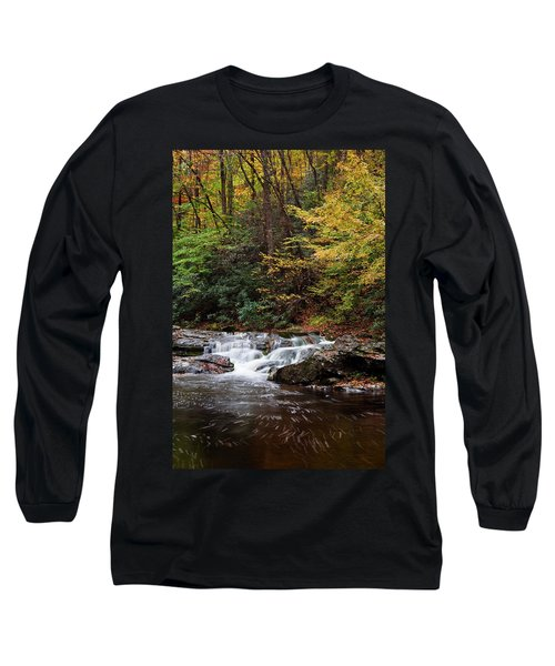 Autumn In The Smokies Long Sleeve T-Shirt by Andrew Soundarajan