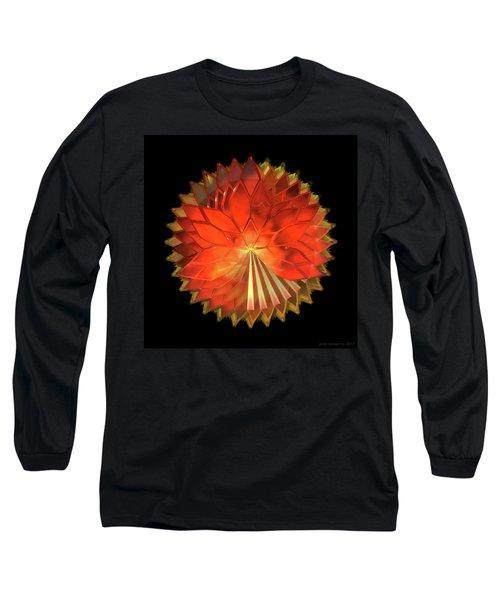 Autumn Leaves - Composition 2 Long Sleeve T-Shirt