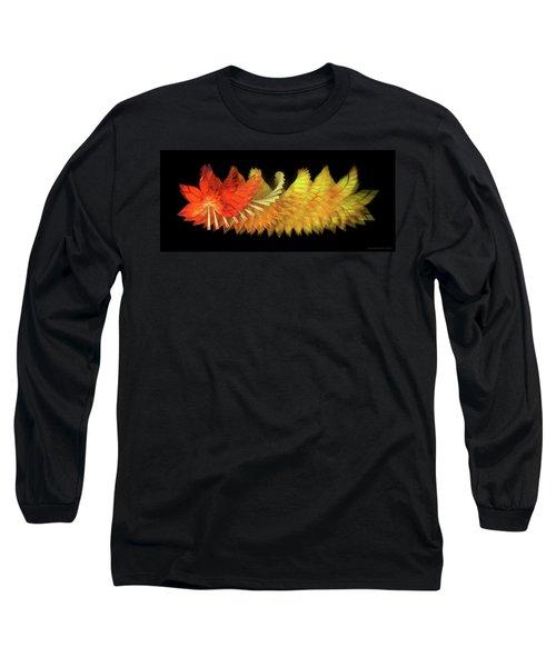 Autumn Leaves - Composition 2.2 Long Sleeve T-Shirt