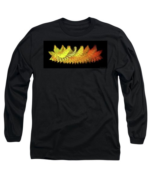Autumn Leaves - Composition 2.3 Long Sleeve T-Shirt