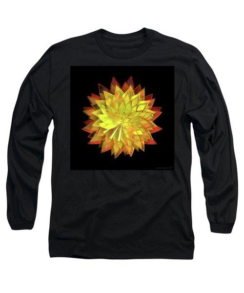 Autumn Leaves - Composition 4 Long Sleeve T-Shirt