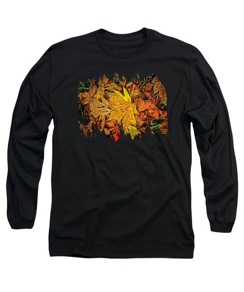Autumn Leaves Of Beaver Creek Long Sleeve T-Shirt by Thom Zehrfeld