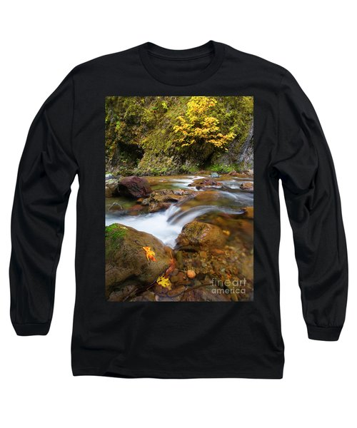 Long Sleeve T-Shirt featuring the photograph Autumn Moment by Mike Dawson