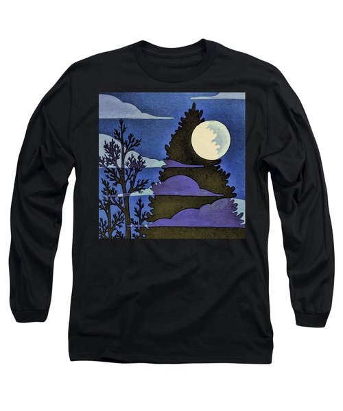 Autumn Moon Long Sleeve T-Shirt