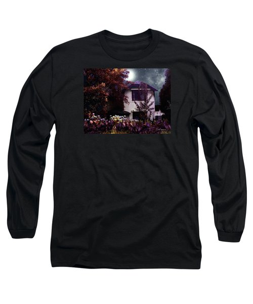 Autumn Night In The Country Long Sleeve T-Shirt by RC deWinter