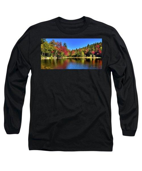 Autumn On 7th Lake Long Sleeve T-Shirt