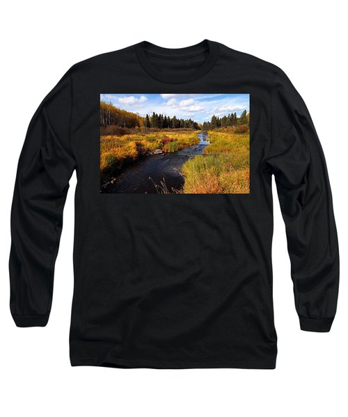 Autumn On Jackfish Creek Long Sleeve T-Shirt