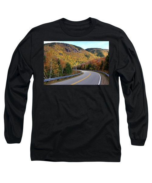 Autumn On The Cabot Trail, Cape Breton, Canada Long Sleeve T-Shirt